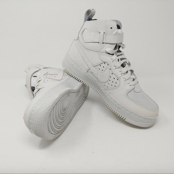 NikeLab Air Force 1 high CMFT TC SP Schuhe Damen Weiß